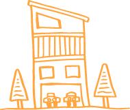 TEACH PLUSの狭小住宅