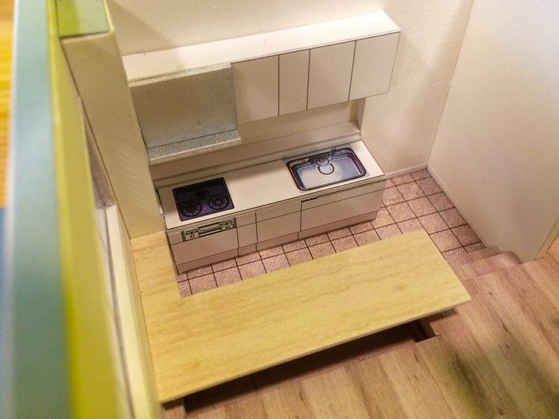 狭小住宅模型職人技